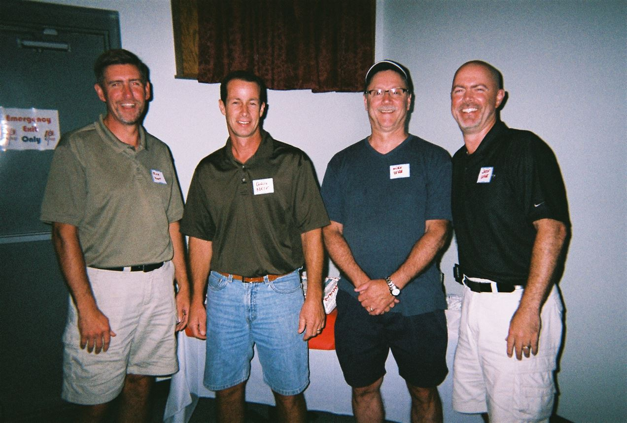 Rick Hunt, Greg Neff, Mike Lehr, Jeff Lehr