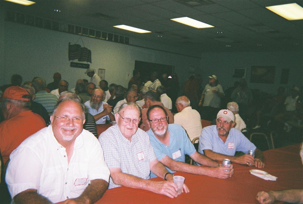 Bob Schaeffer, Captain Buck, Chuck Buck, Mark Hegedus