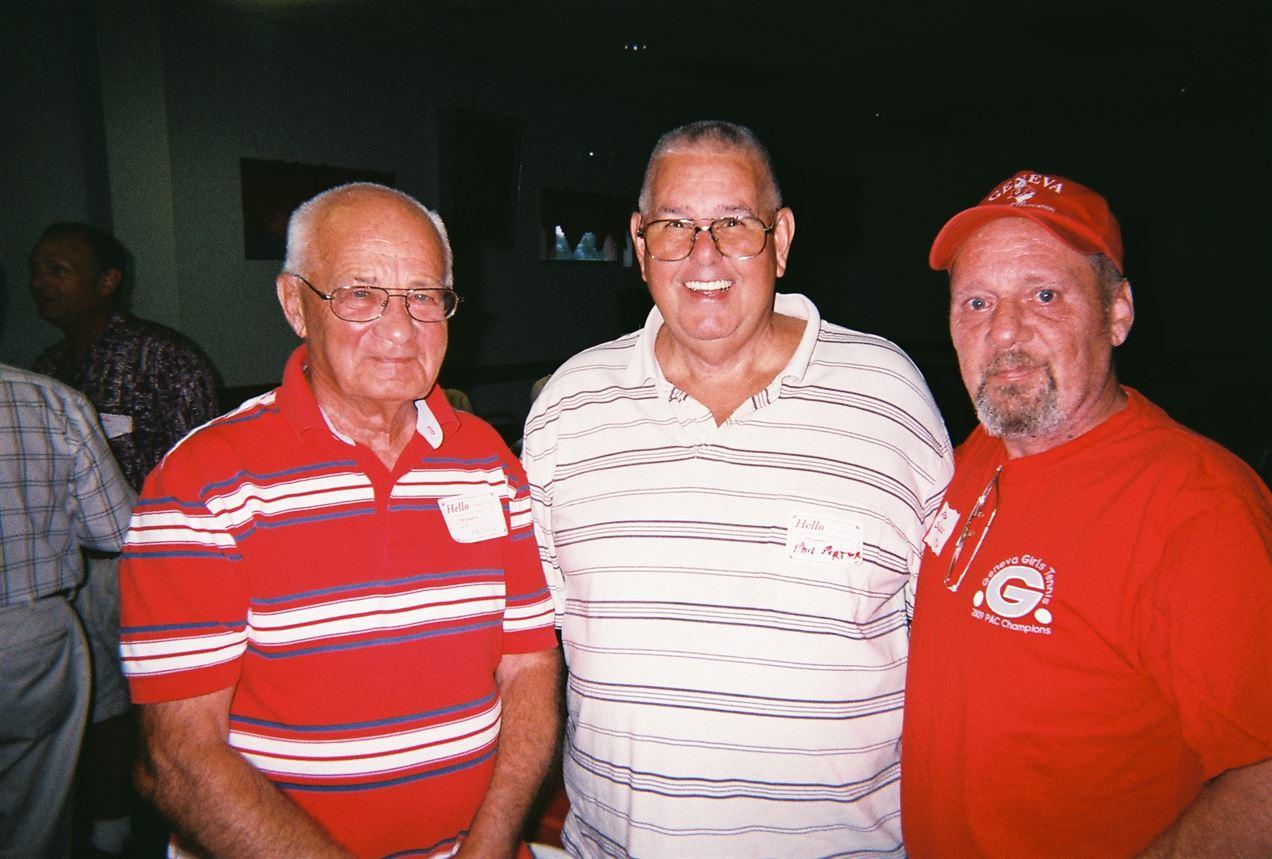 Carl Paskey, Phil Porter, Mitch Sickles