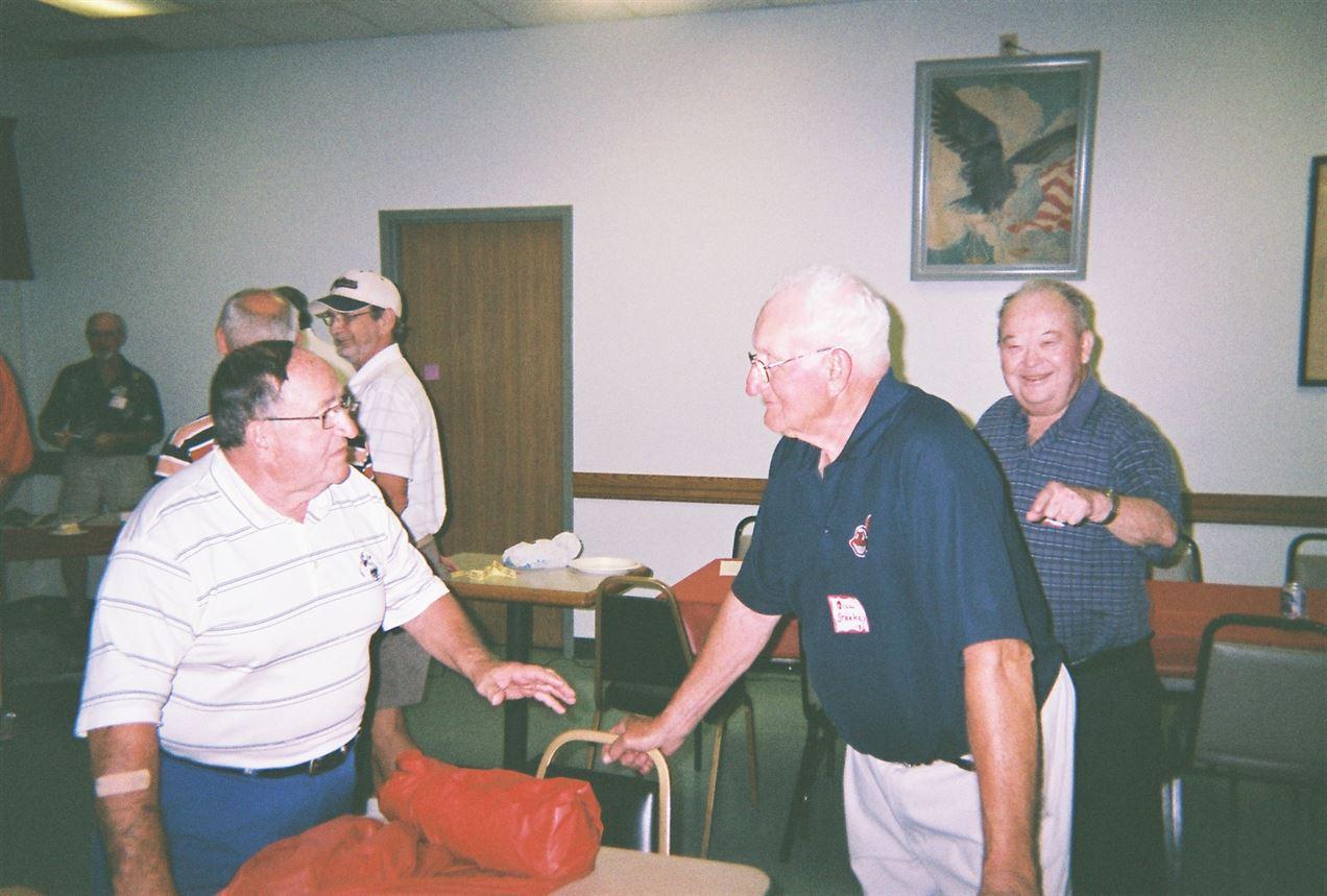 Mike Pasqualone, Bill Starkey, Dick Strong