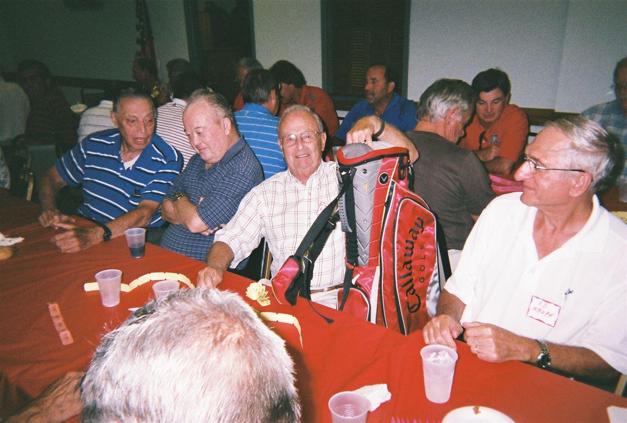 Bob Peterka, Dick Strong, Don Drought, Ed Kropf