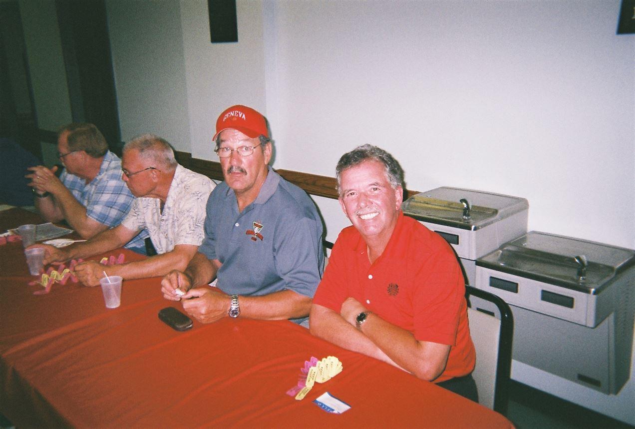 Doug Montgomery, Bill Portz, Gary Kreilach, Mitch Henn