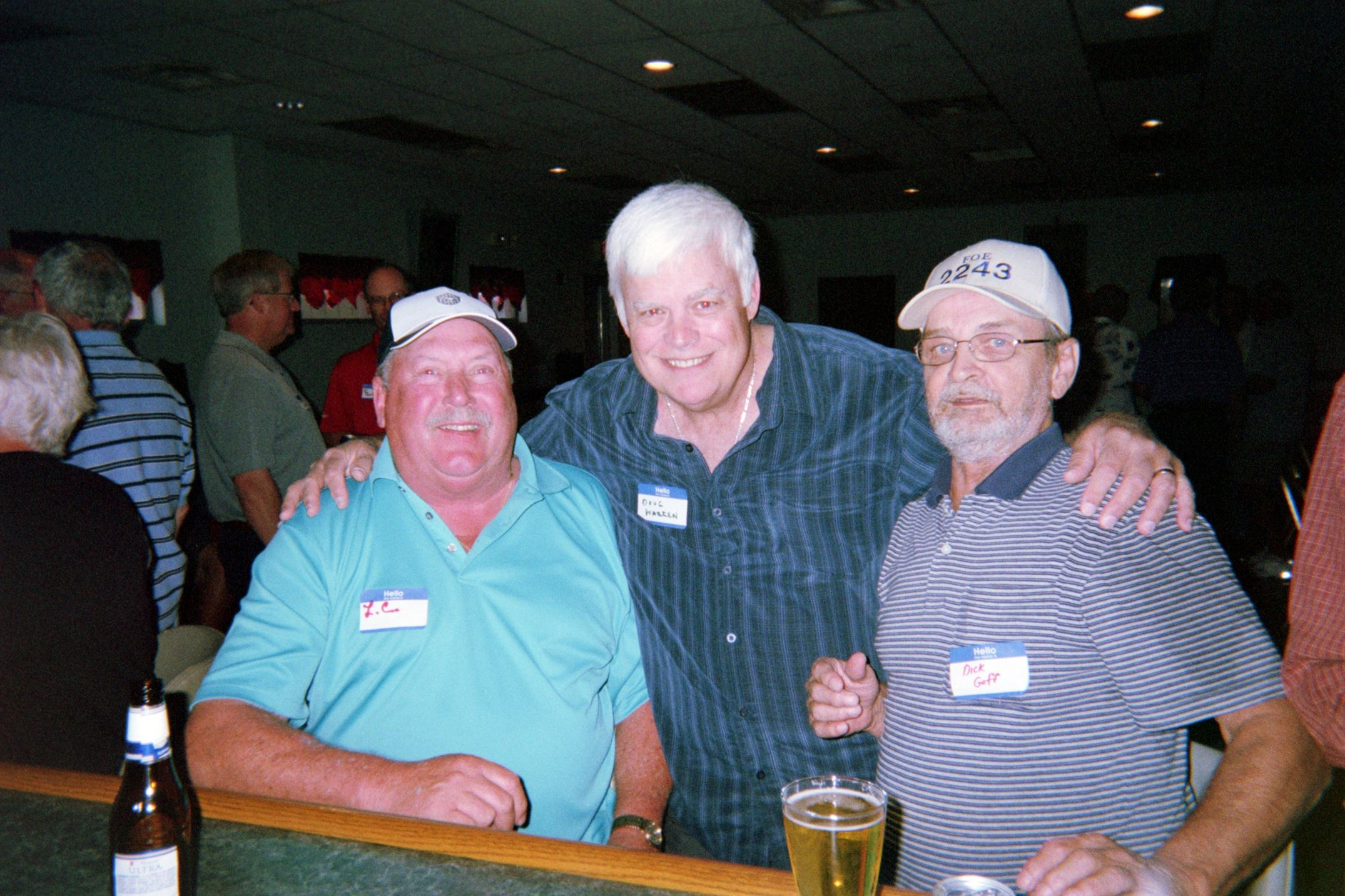 Larry Cumpston, Doug Warren, Dick Goff