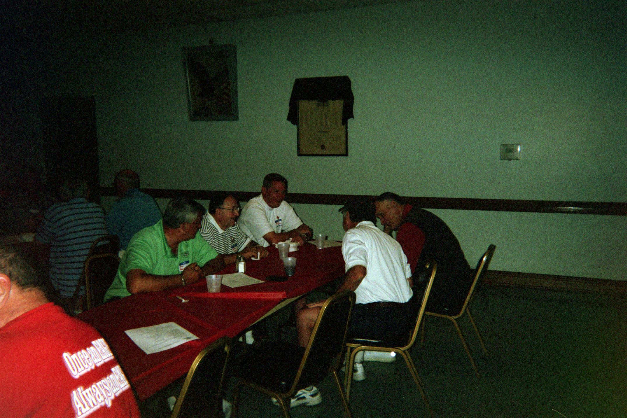 Mark Pasqualone, Mike Pasqualone, Brad Ellis, Dick Pierece, Bill Koval