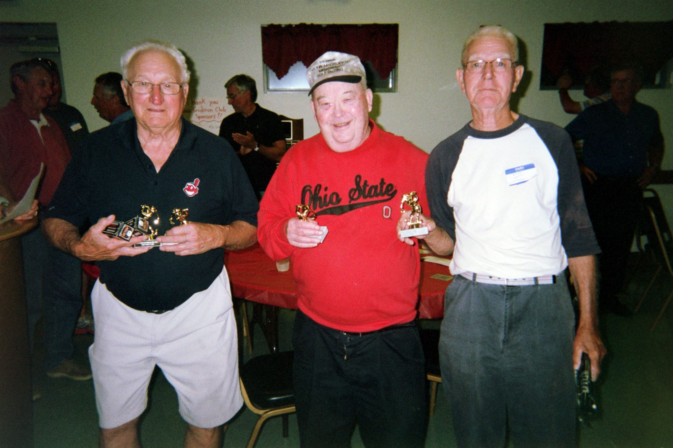 "Bill Starkey, Dick Strong, Dick ""Casey"" Whelpley"