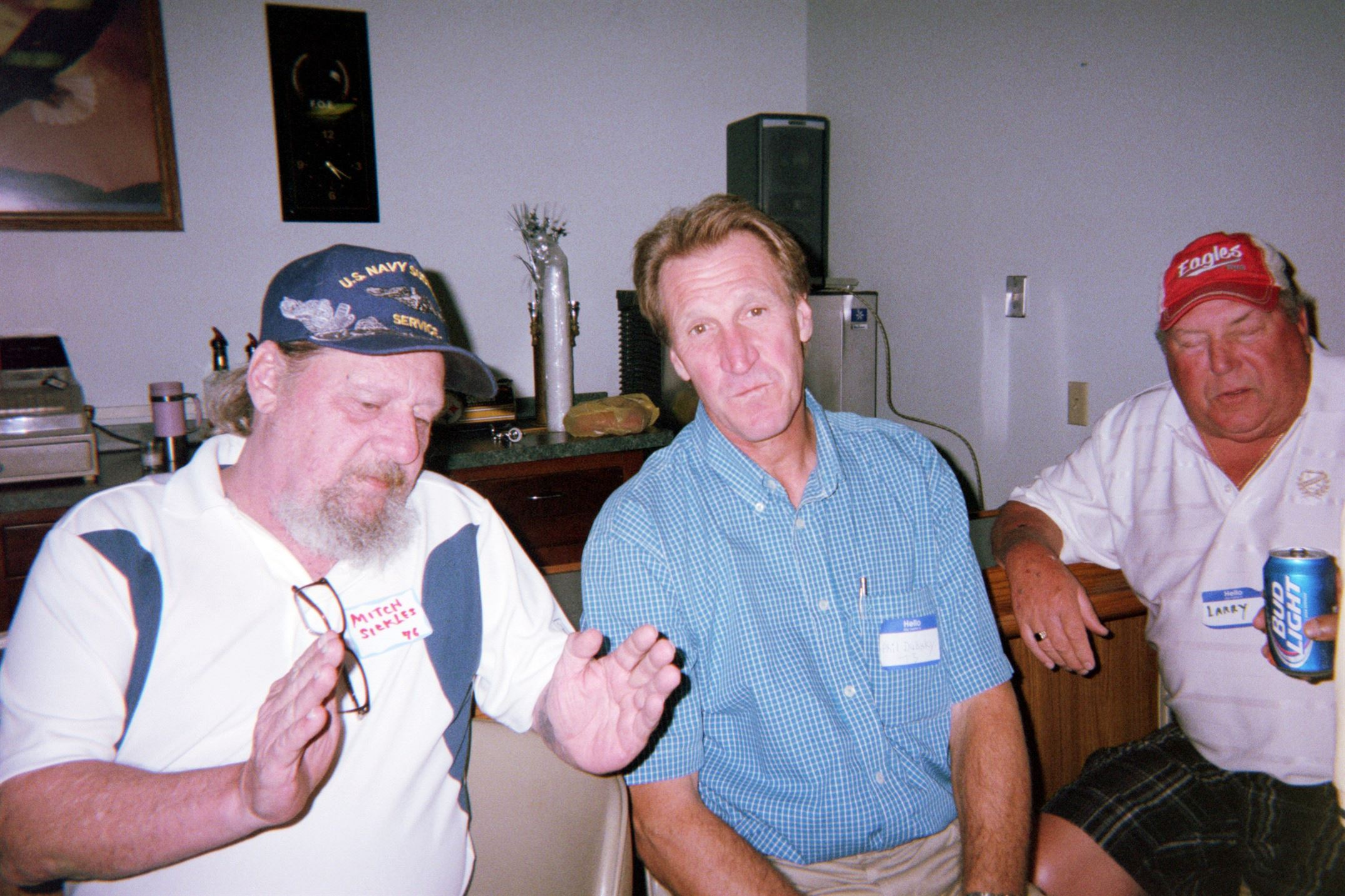 Mitch Sickles, Phil Dubsky, Larry Cumpston