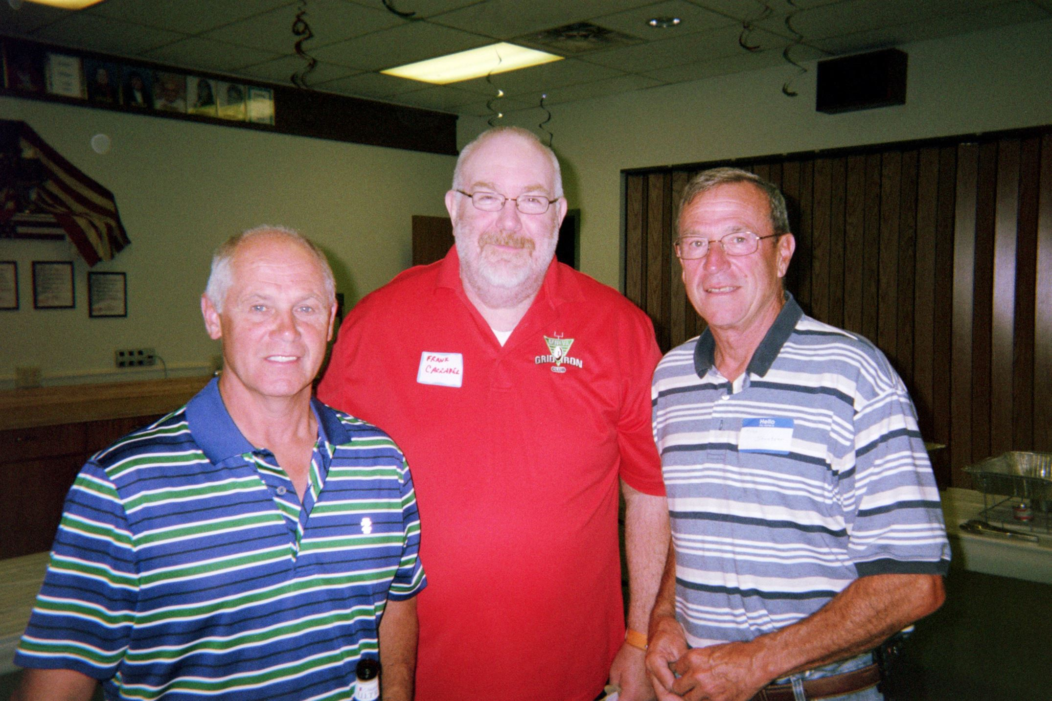 Dick Belconis, Frank Carraher, Alex Steutzer
