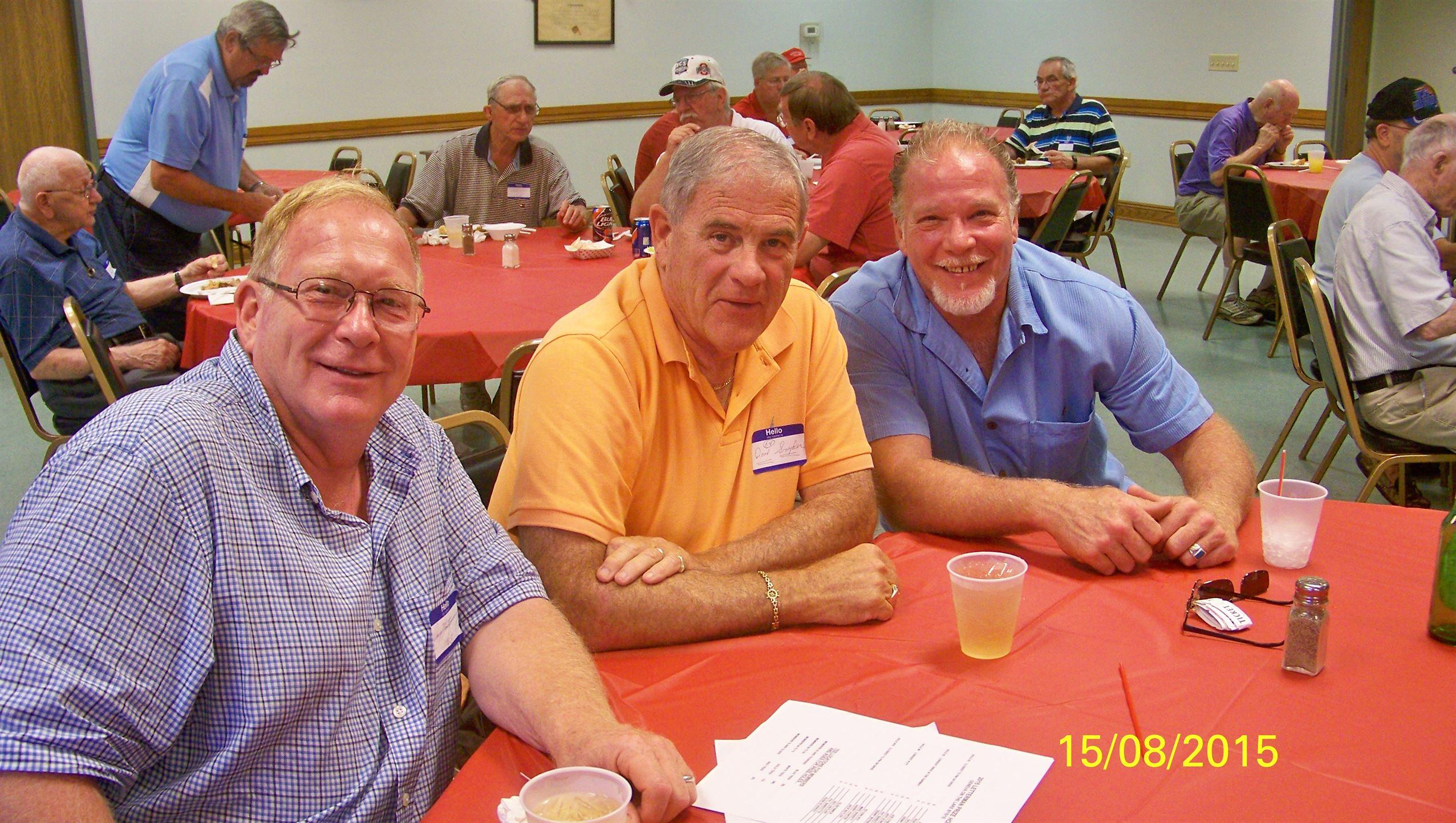 Doug Montgomery, Dave Snyder, John Montgomery