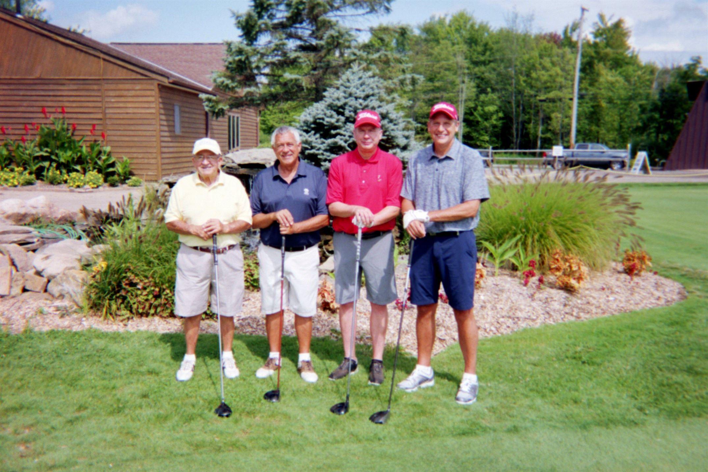 Mike Pasqualone, Mark Pasqualone, Brad Ellis, Doug Ellis