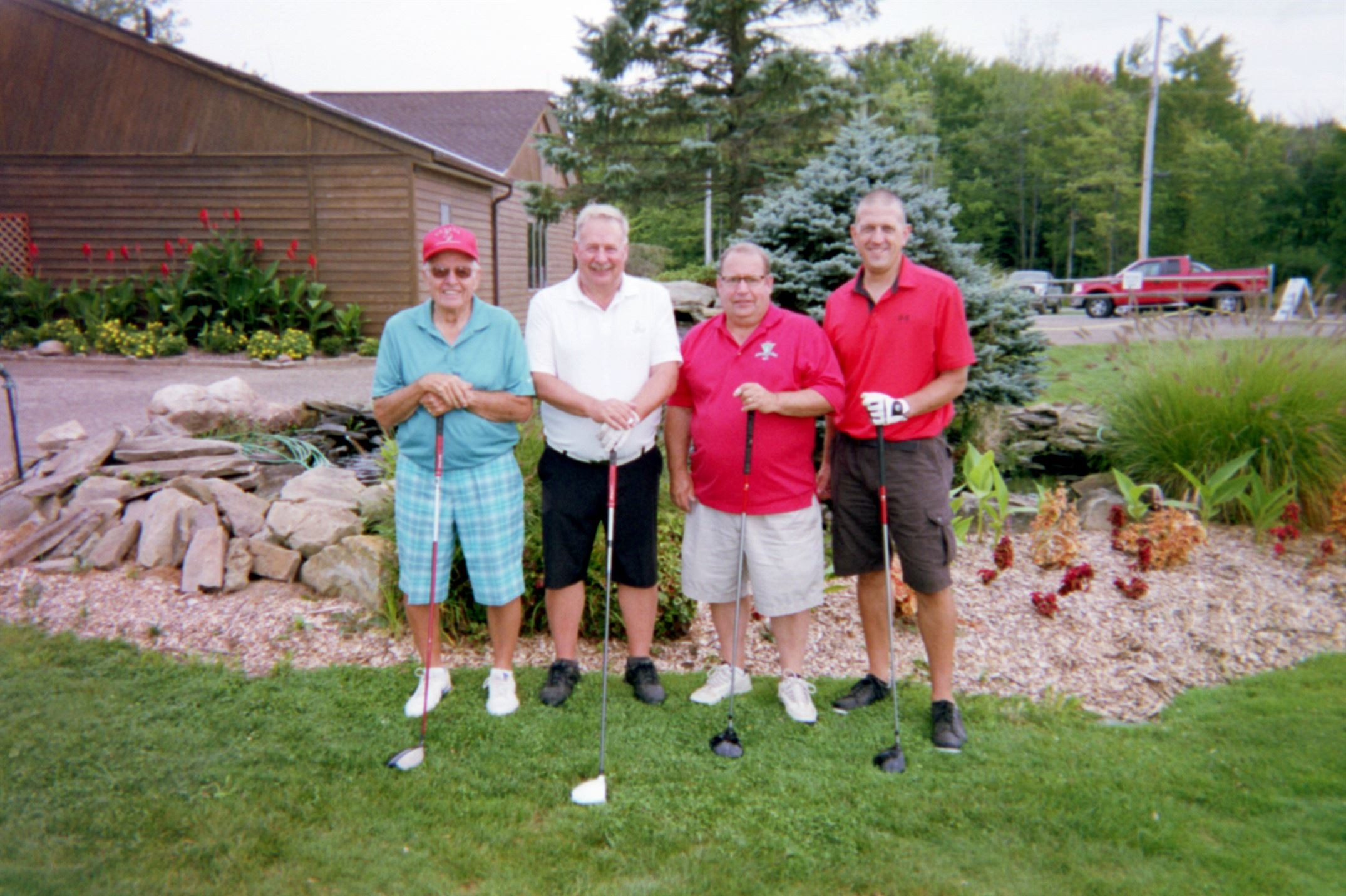 Russ Starkey, Jeff Starkey, Doug Starkey, Dale Arkenburg