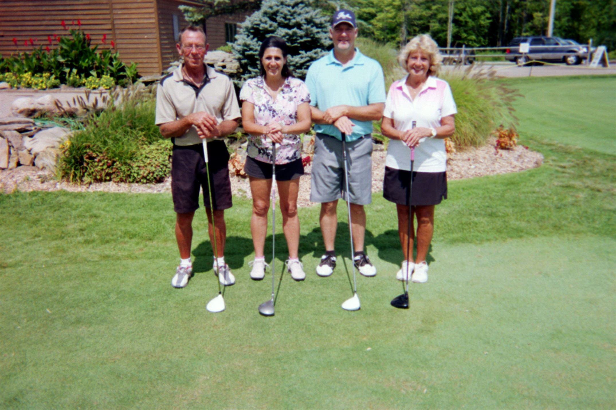 Steve Dragon, Becky Pierce, Dennis Dragon, Joyce Cerjan