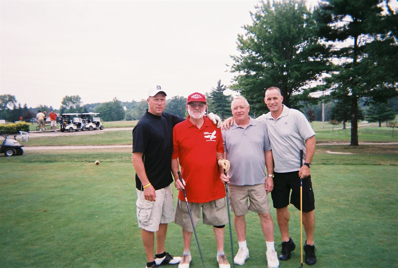 Ron Kimmy Jr., Ron Kimmy Sr., Jerry Ensman, Brian Ensman