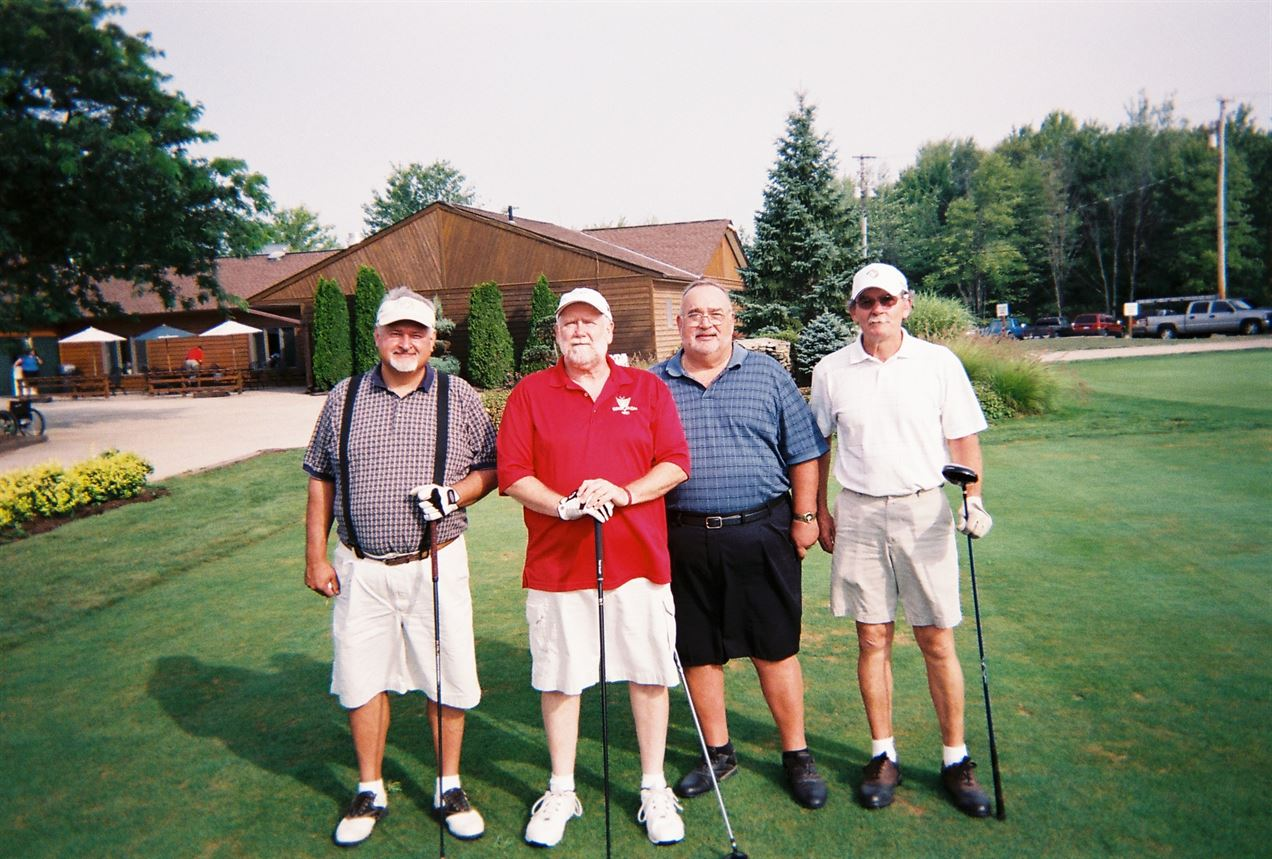 Bob Perkins, Wes Dixon, Harry Hunter, Jerry Junker
