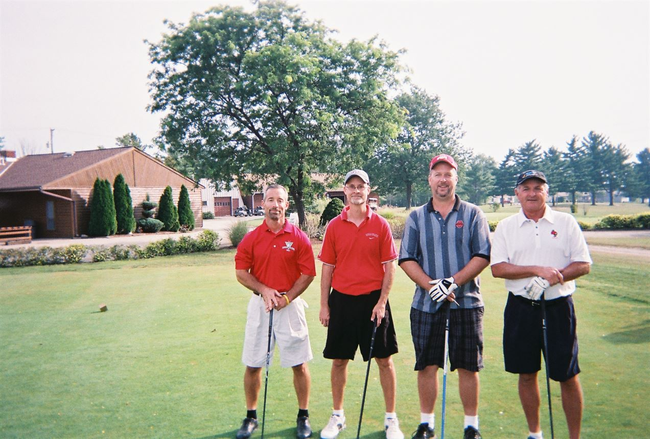 Mark Woodworth, Randy Woodworth, Rich Spangler, Dick Pierce