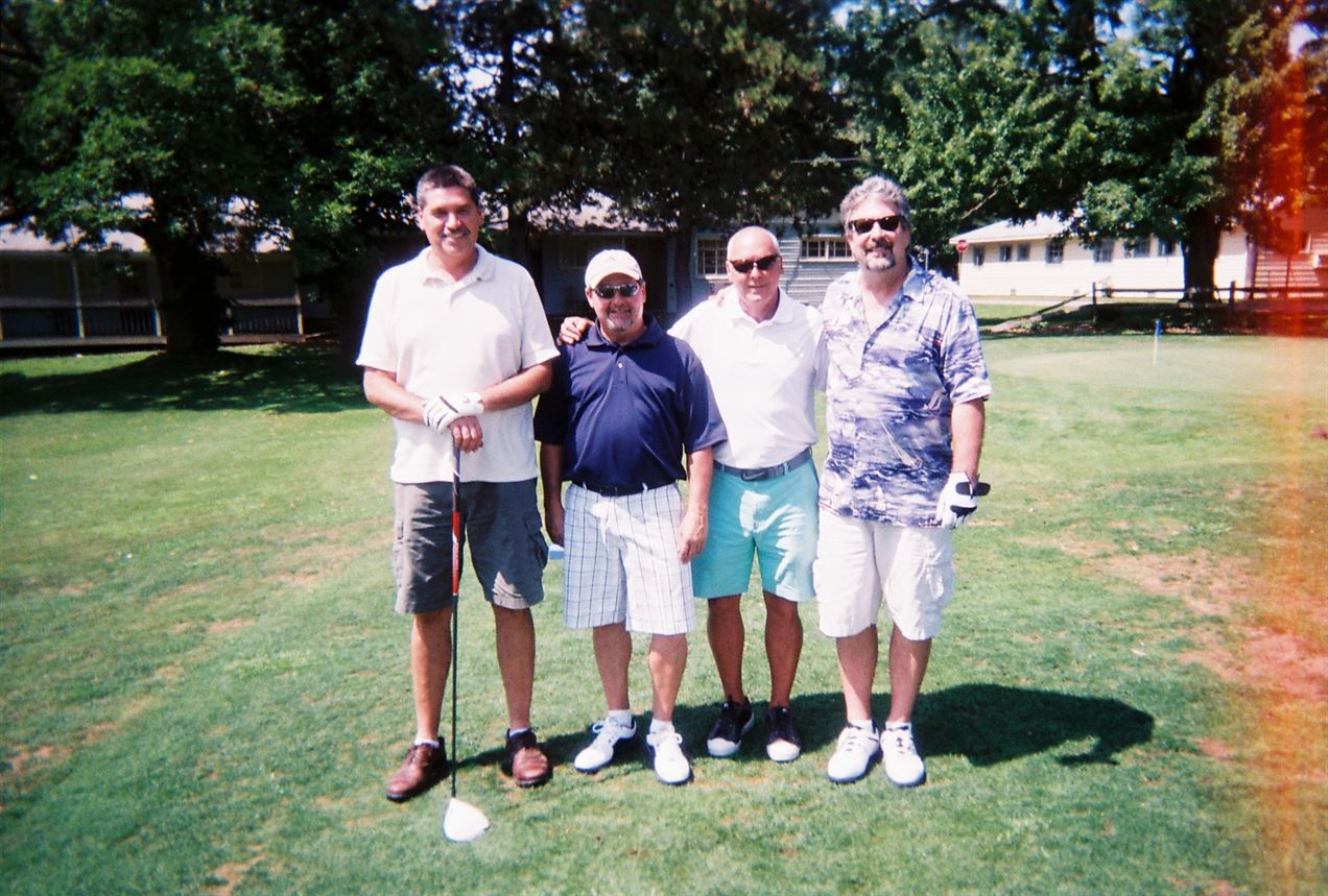 Denny Coy, Butch Burton, Chuck Burton, Steve Knowles