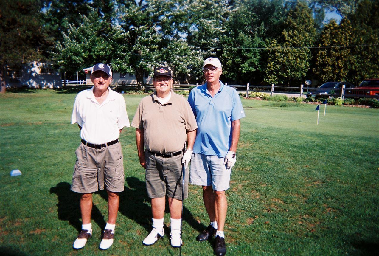 Ed Kropf, John Kropf, Lyle Pepin