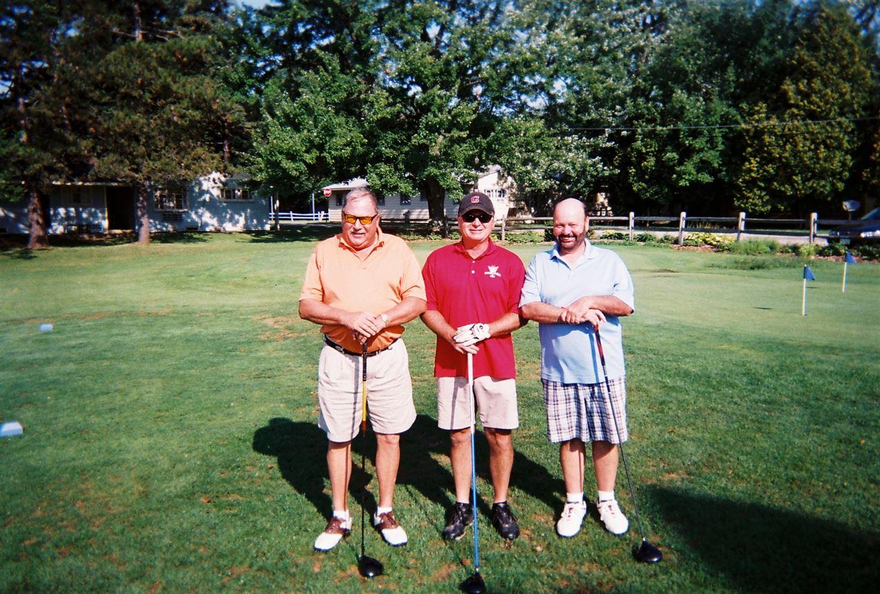 Larry Cumpston, Jim Deering, George Distler