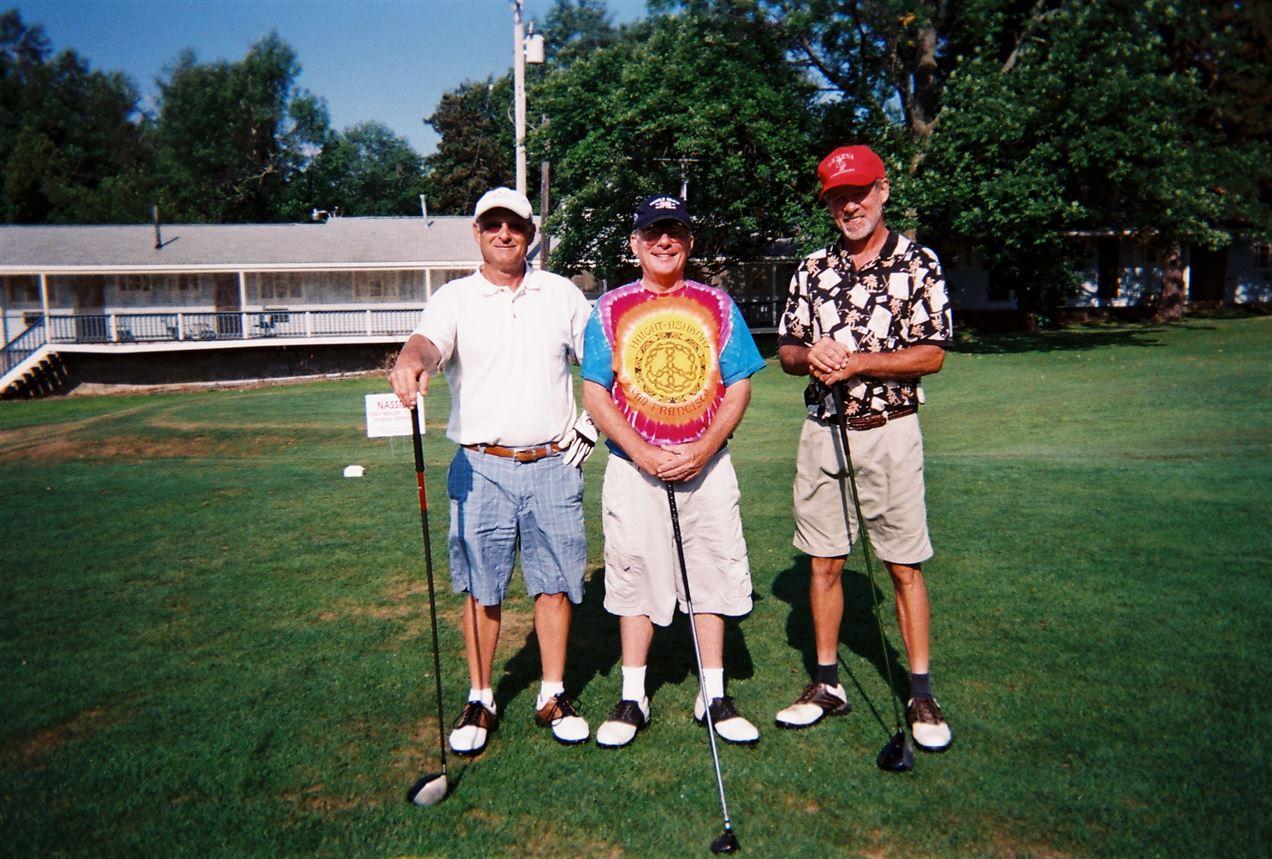 Robbie Miller, Chuck Webb, Steve Klaue