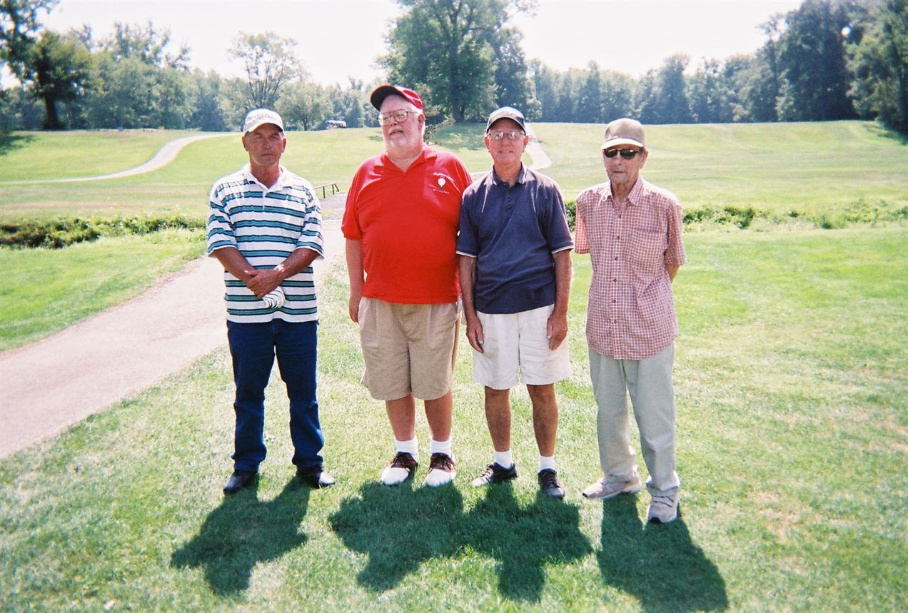 Doug Burgett, Gary Korver, Dick Whelpley, Carl Reidl
