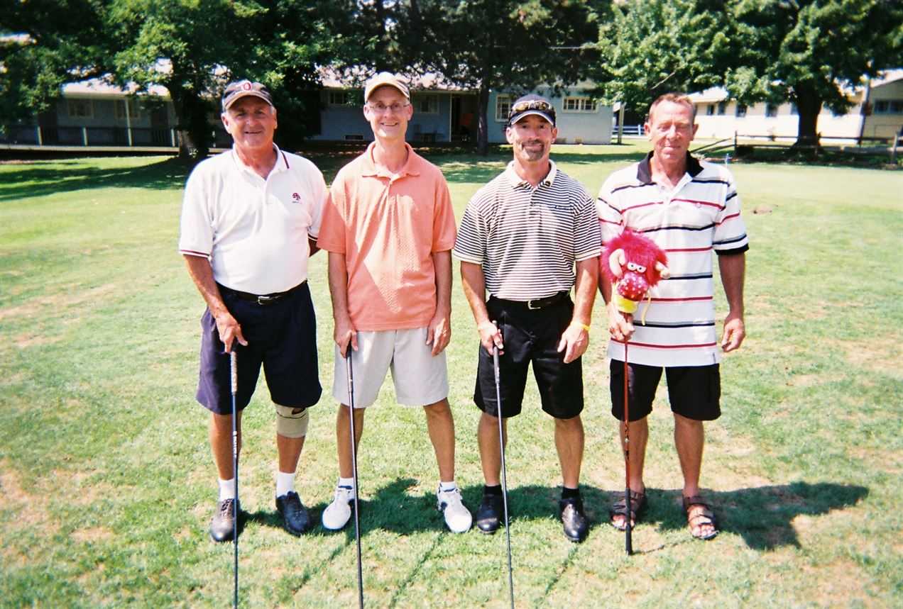 Dick Pierce, Randy Woodworth, Marc Woodworth, Steve Dragon