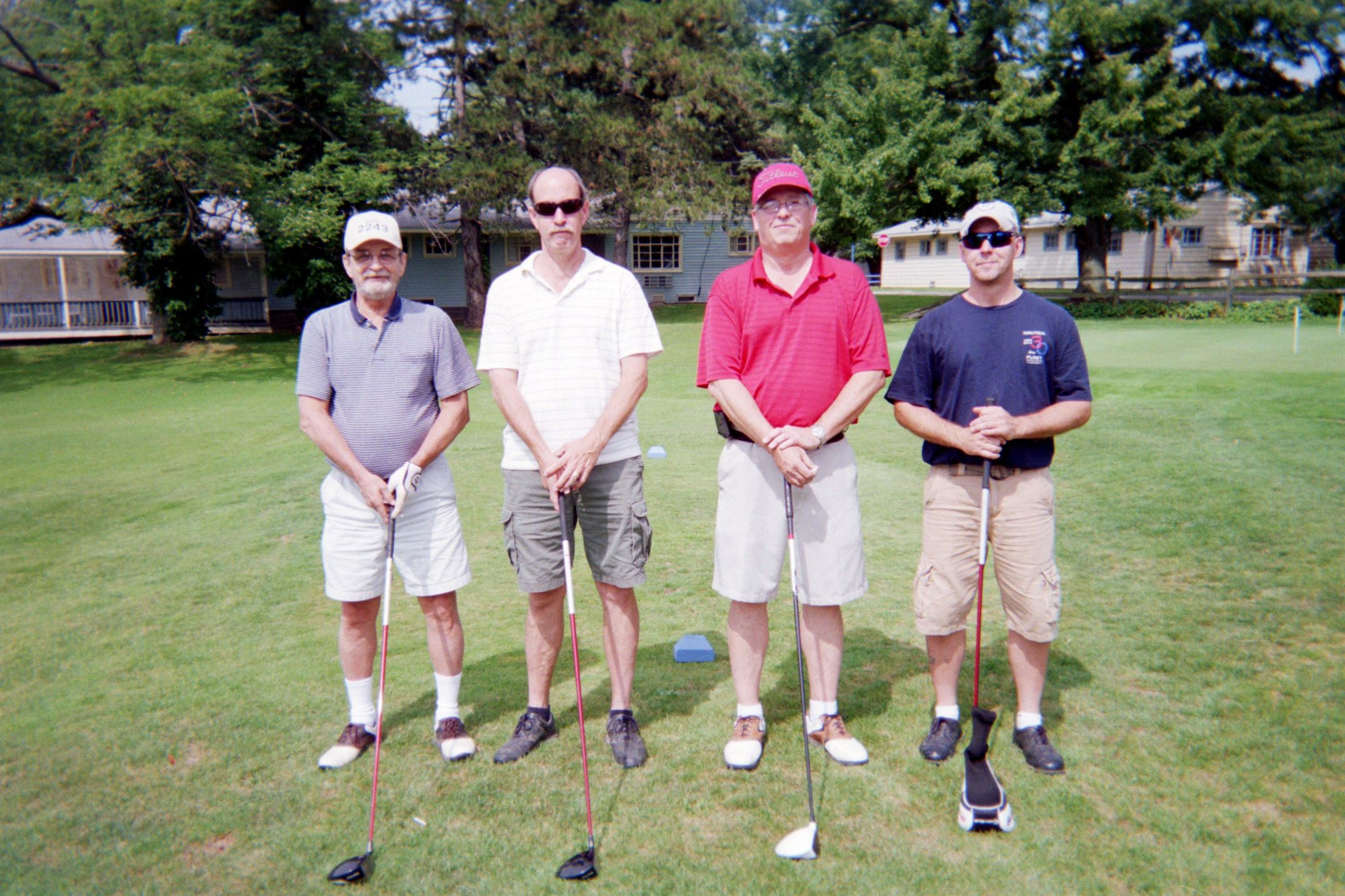 Dick Goff, Randy Goff, Doug Bright, Steve Reigert