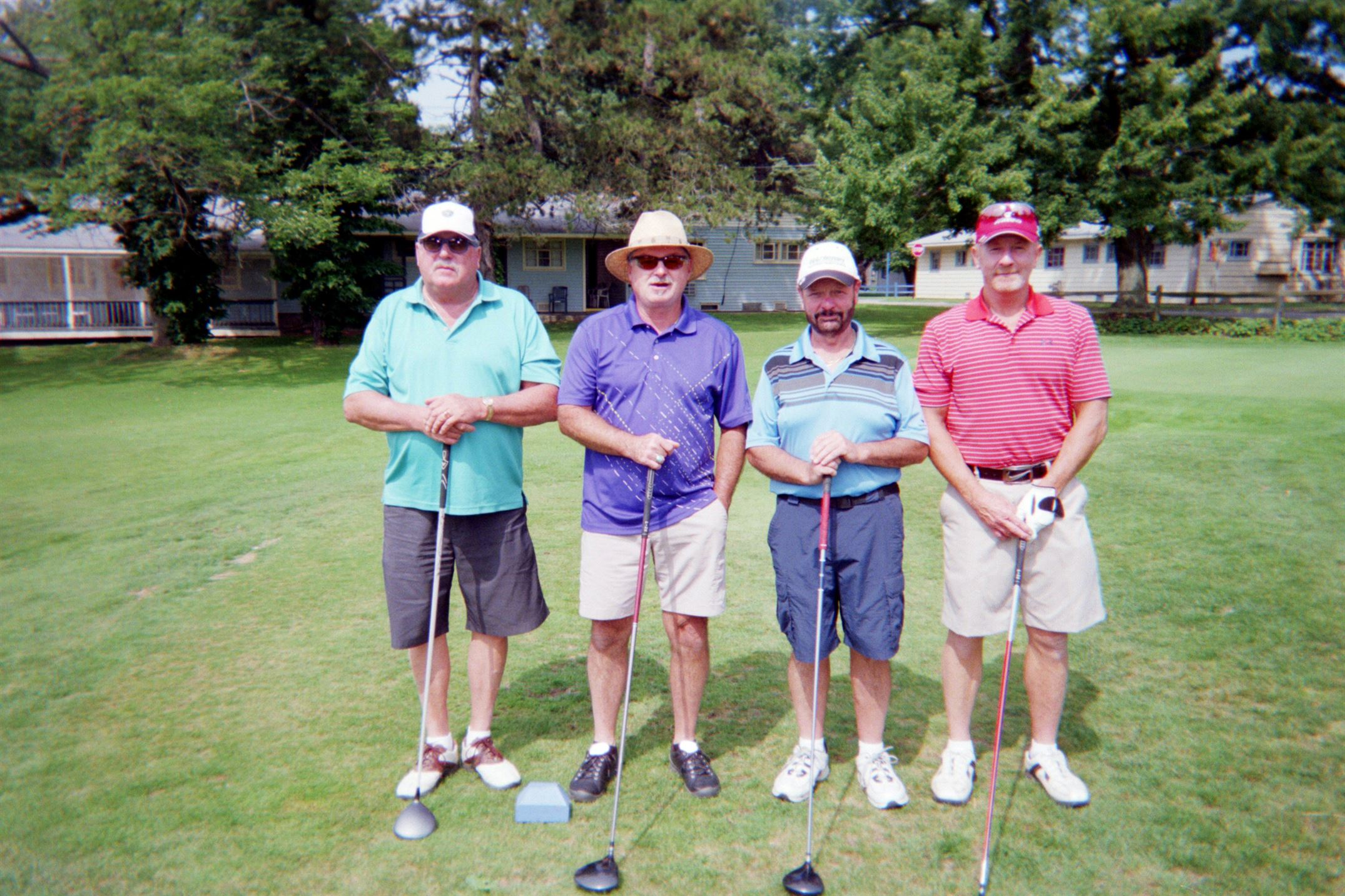 Larry Cumpston, Jim Deering, George Distler, Bob Bennett