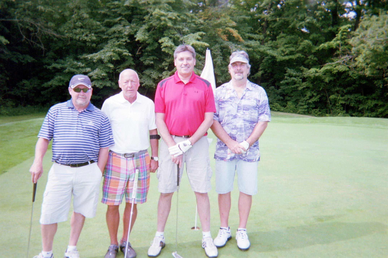 Butch Burton, Chuck Burton, Denny Coy, Steve Knowles