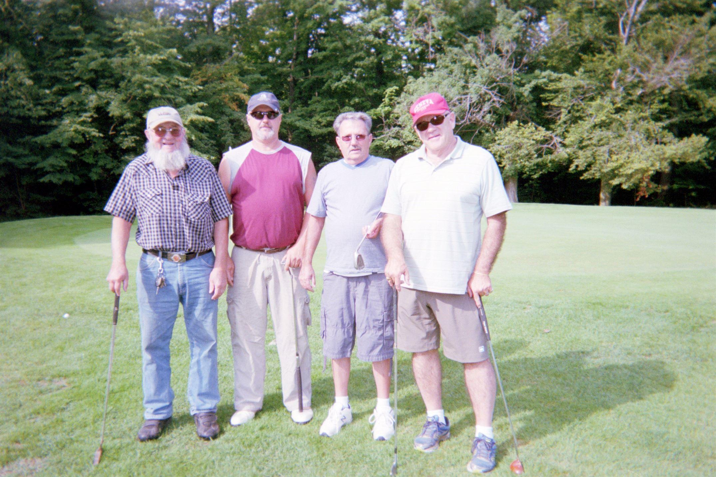 Bill Stone, Owen Stone, CP Hiles, Dave Snyder