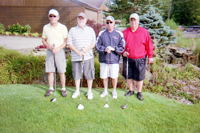 Jerry Junker, Wes Dixon, Dale Theilan, Harry Hunter