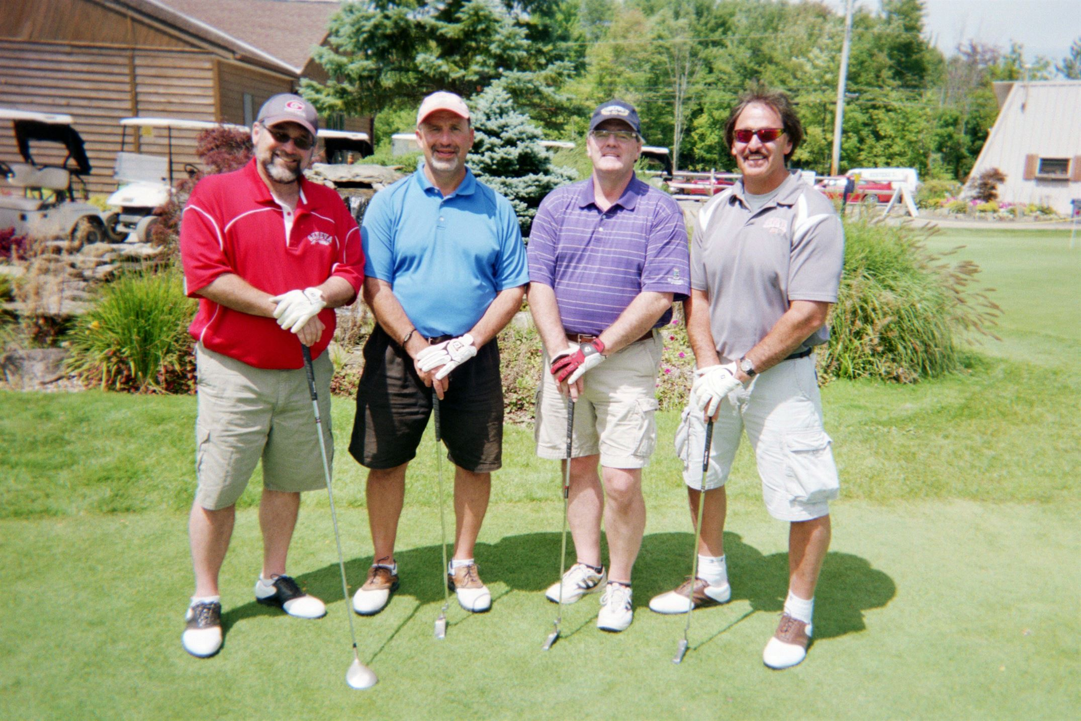 Tony Tersigni, Mike Hassett, Randy Hackathorn, Tony Hassett