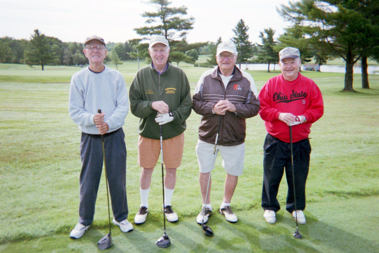Dick Whelpley, Jack Butler, Bill Starkey, Dick Strong