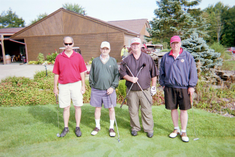 Randy Goff, Dick Goff, Lanny Swiger, Doug Bright