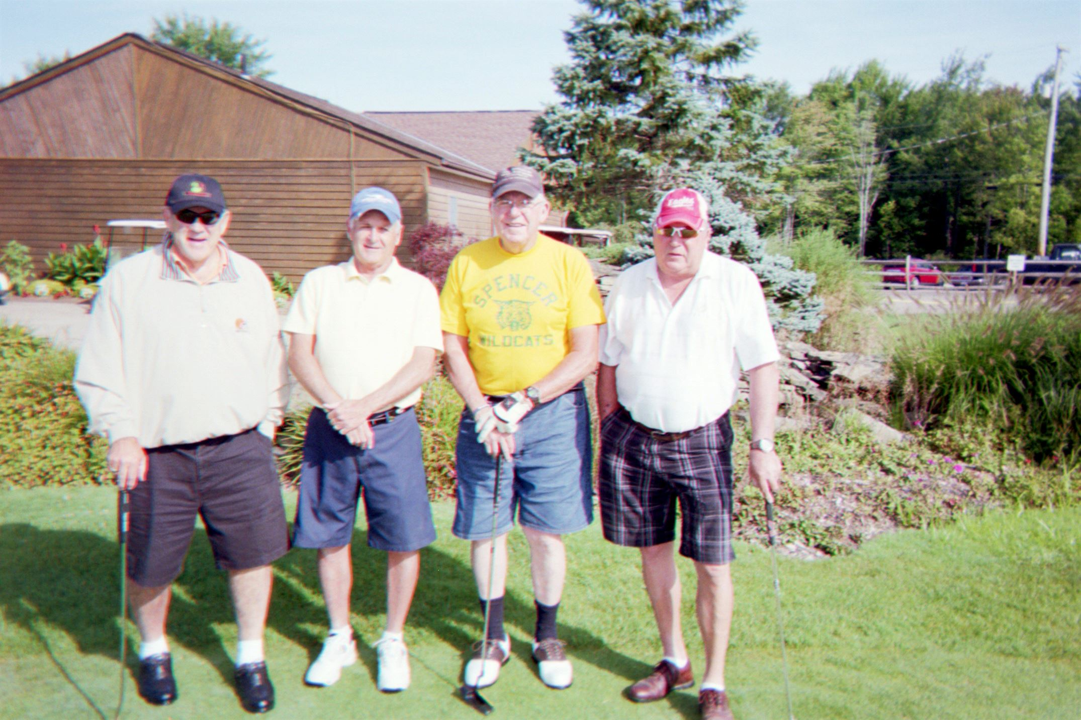 Dave Snyder, Dick Pierce, Paul Inman, Larry Cumpston