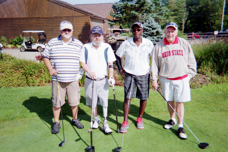 Bob Perkins, Mitch Sickles, John Clay, Gary Harrison