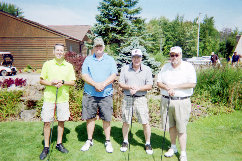 Rich Davis, Bill Schultz, Allen Hook, Brad Bryan