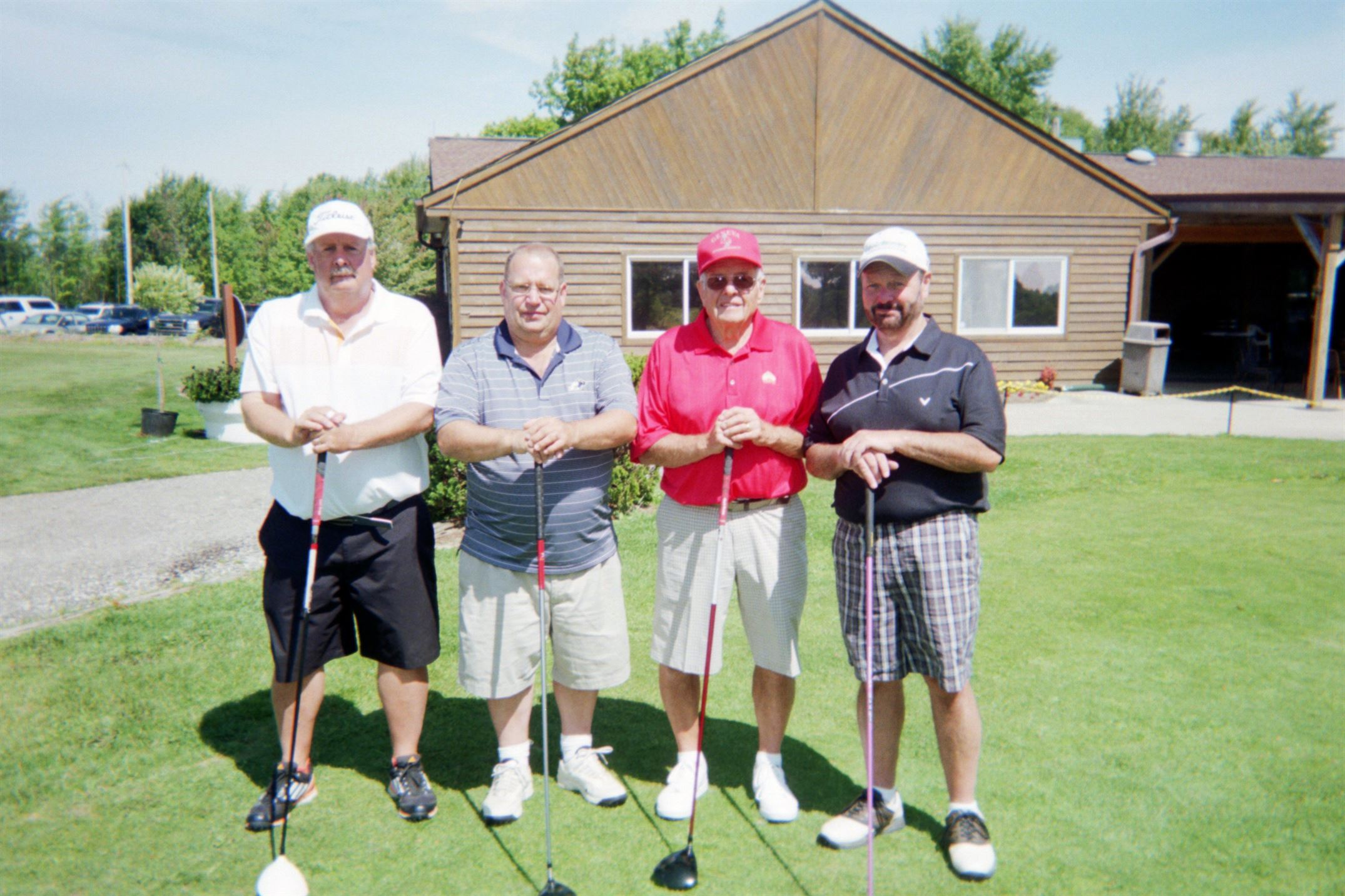 Jeff Starkey, Doug Starkey, Russ Starkey, George Distler