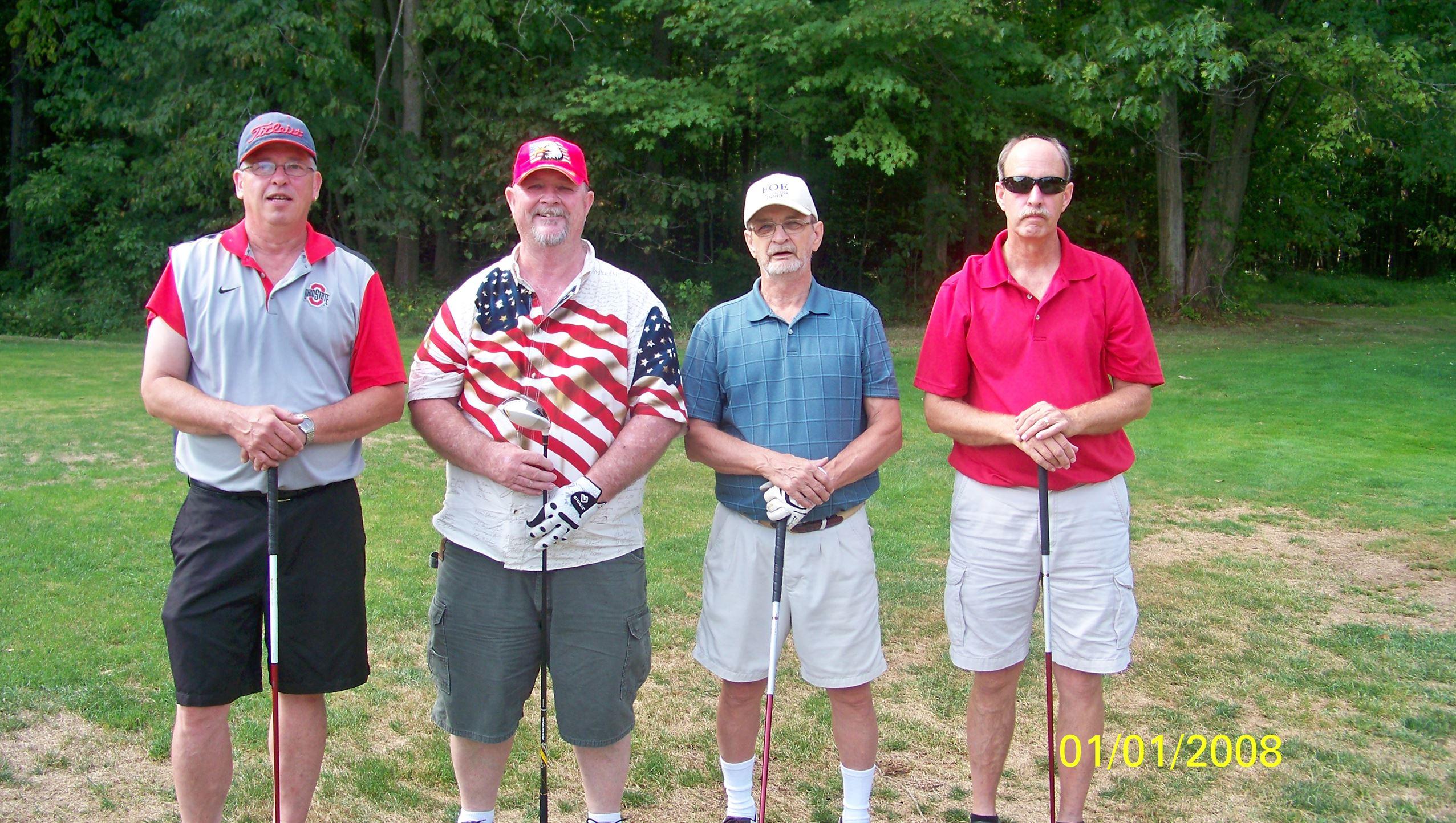 Doug Bright, Lanny Swiger, Dick Goff, Randy Goff