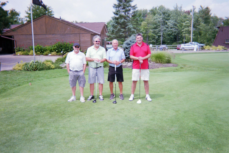 Butch Burton, Steve Knowles, Chuck Burton, Denny Coy