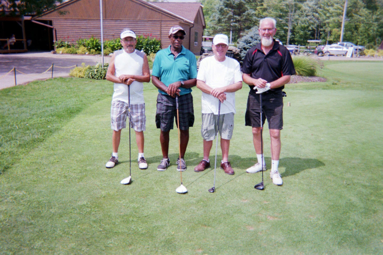 C.P. Hile, John Clay, Chuck Webb, Craig Harting