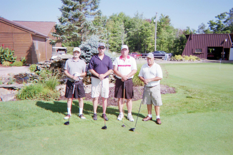 Dick Goff, Randy Goff, Doug Bright, Brent Williamson