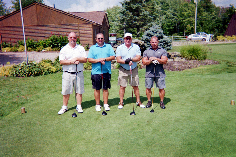 Rich Davis, Scott Carly, Bill Schultz, Chuck Leonard