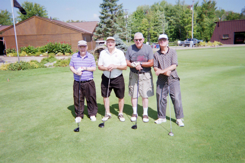 Dick Strong, Bill Starkey, Paul Inman, Dick Whelply