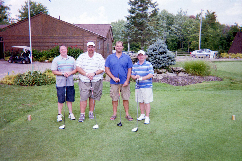Doug Menough, Eric Bowser, Bruce Kirk, Sean Parker
