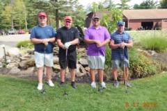 Rich Davis, Bill Schultz, Scott Carly, Chuck Leonard