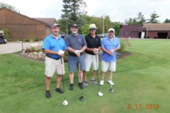 Mike  Hassett, Randy Hackathorn, Tony Tersigni, Tony Hassett